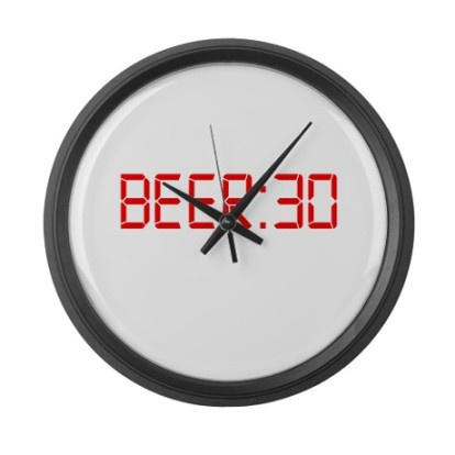 beer_30_irish_thirty_large_wall_clock